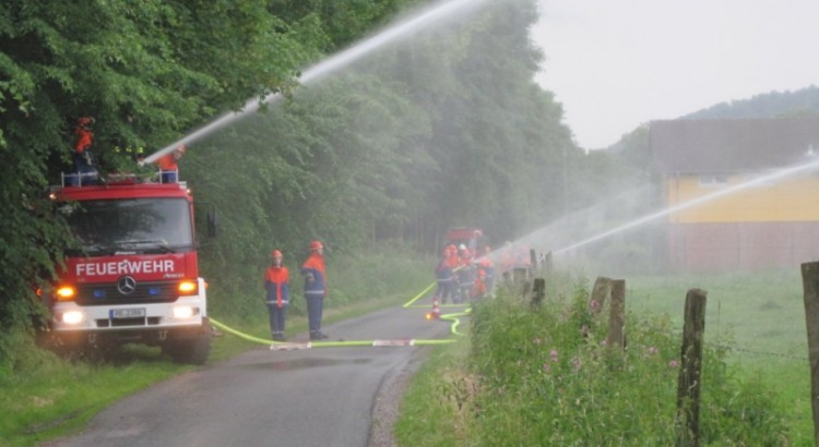 Dienstabend Wasserförderung TLF 20/30 Tr.