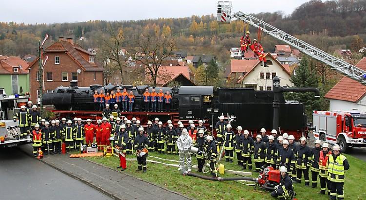 Die Feuerwehr Altenbeken im Herbst 2010