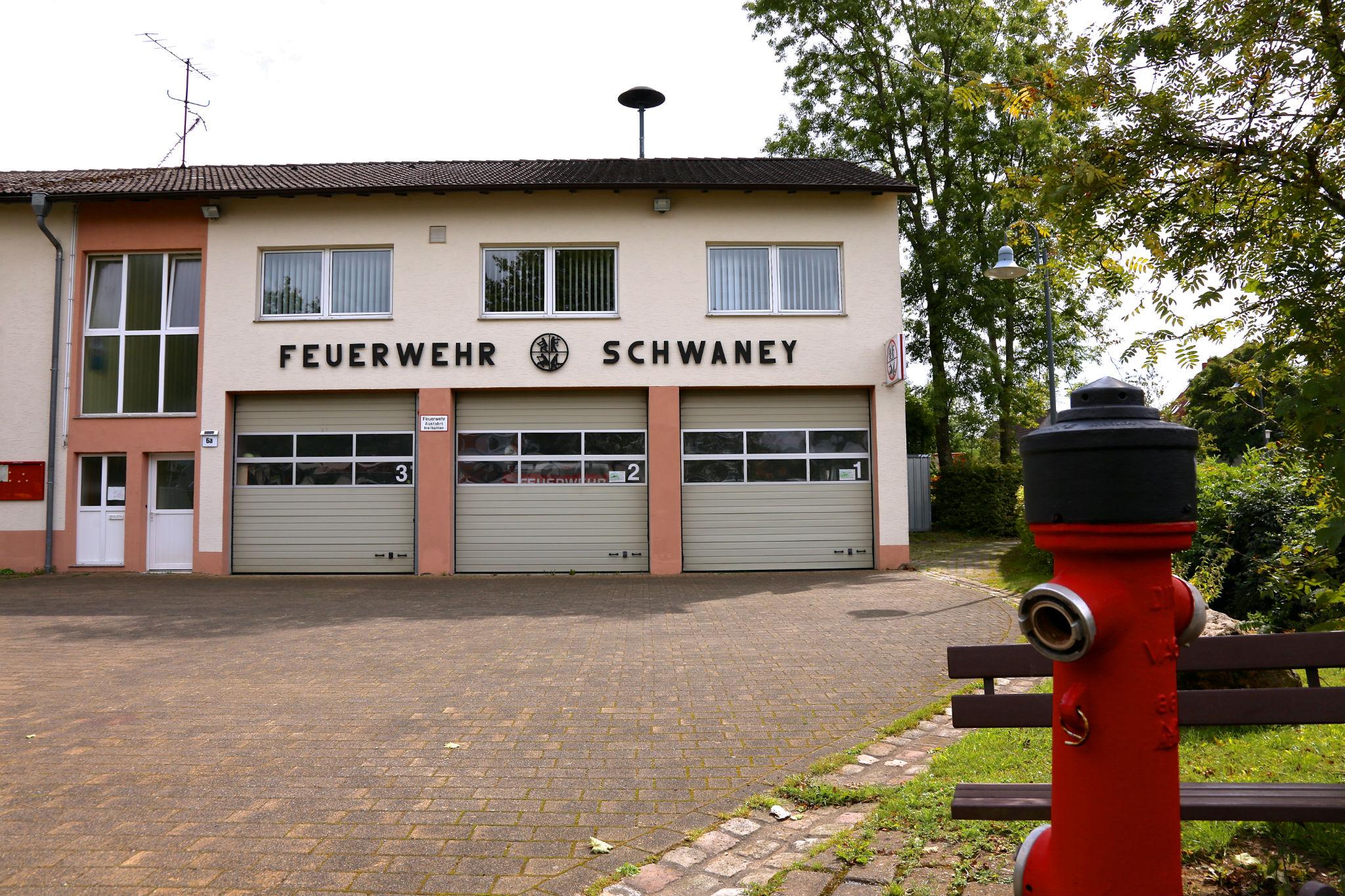 Gerätehaus Schwaney