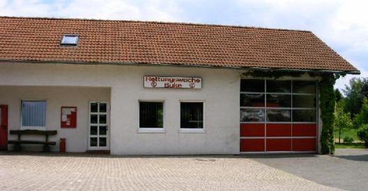 Die Rettungswache des Kreises Paderborn in Buke