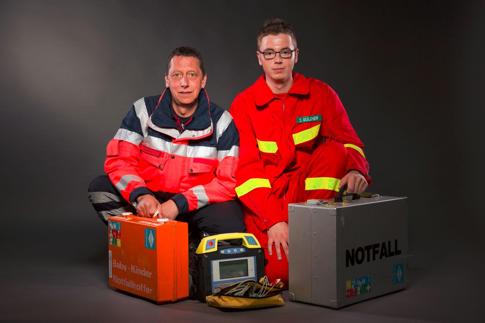 Auszug der Ausrüstung für First Responder- und Rettungsdiensteinsätze