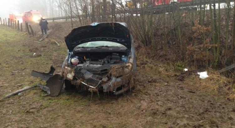 Verkehrsunfall L828 Schwaney