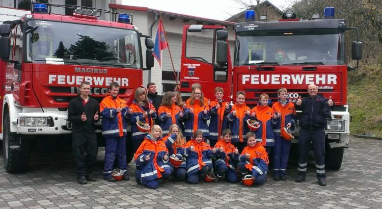 Jugendfeuerwehr Altenbeken am 15.02.2014