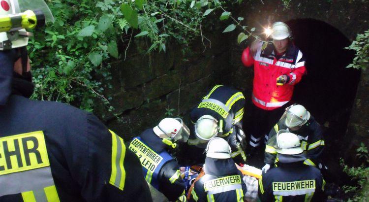 Übung Rettungsdienst