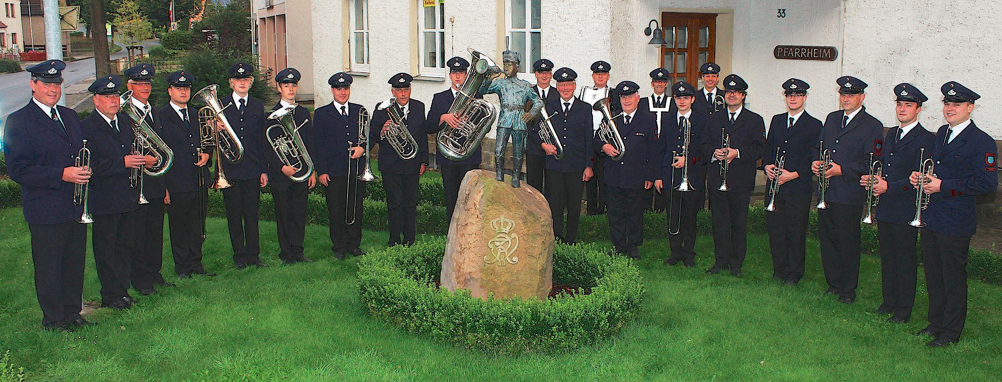 Foto: Trompeterkorps 8. Husaren Buke