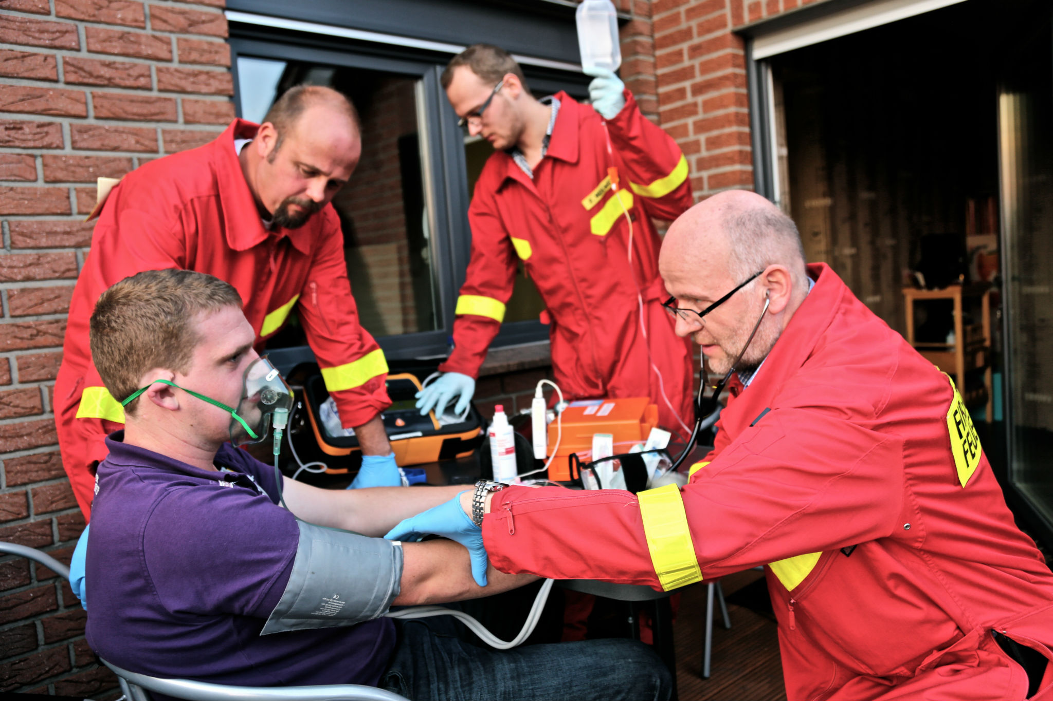 First Responder Behandlung