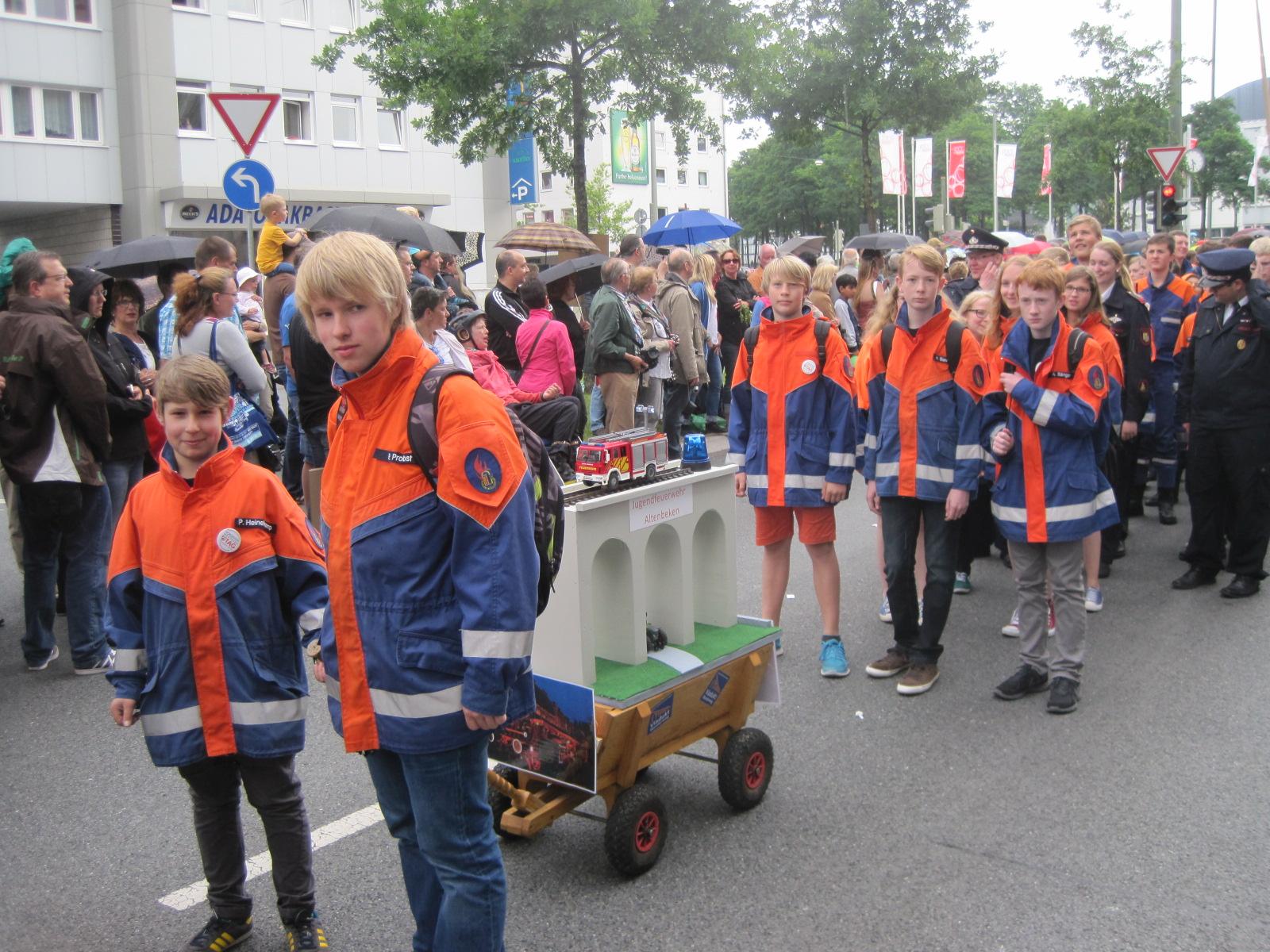 JF Altenbeken beim Festumzug des NRW-Tag Bielefeld