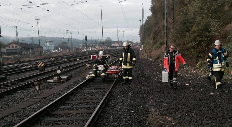 Unfall Bahnhof