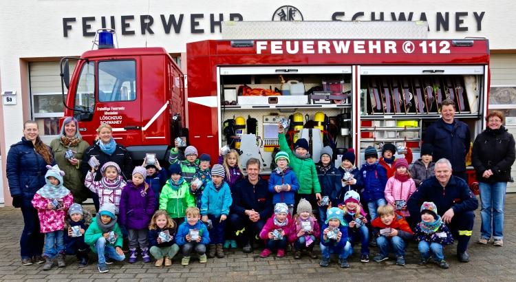 Brandschutzerziehung KiGa Schwaney